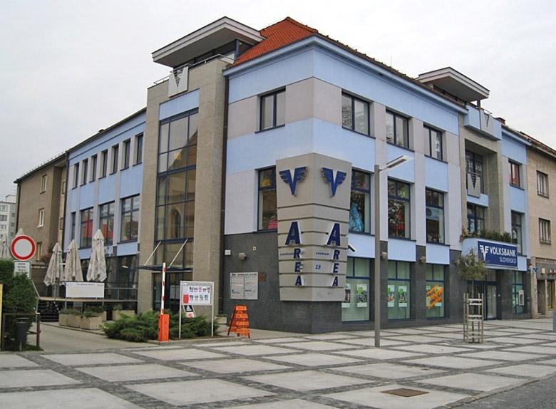 Naša predajňa sa nachádza v obchodnom centre Area